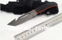 High Quality! FOX Camping Hunting Knives,5Cr15Mov Blade G10 Handle 57HRC Survival Diving Knife.