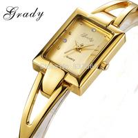 Watch women brand luxury 18K gold band ladies quartz watch watches for women