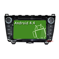 Free shipping-Pure Android 2.3 Car DVD For Mazda 6 2008-2012 GPS with 1G CPU,512M RAM,Capacitive screen,Canbus(Optional-3G,Wifi)