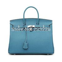 Hot Selling women's fashion bag handbags genuine leather handbags 35cm totes famous brand bags lock buckle top quality