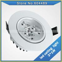 1pcs/lot LED mounted ceiling light High Super bright LED power leds Wedge 3W 7W 12W ledlamp White/warm white AC110-240V