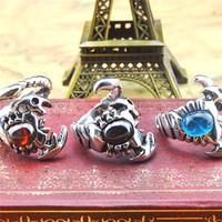 Luxury Brand Fashion Titanium Rose Gold Black White Ceramic Ring Couples Promise Ring Men Women Bijou Acessories Jewelry Gifts