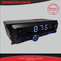 2015 Hot selling digital  car audio player  l /car radios /FM  stations &support MP3 USB SD MMC