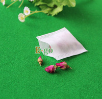 "Hot sale! 1000pcs/lot Heat sealing tea bag 2.4"" X 3.1"" 60 X 80mm , Non-woven Fabric Clean Filter Bag, Coffee Filters"