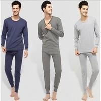 high quality cotton winter polartec man's thermal underwear man/men sport ropa interior suit