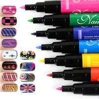 1PCS 2014 Fashion Design Nail Art Pen Painting Drawing Pen Nail Tools Manicures 18969 Z