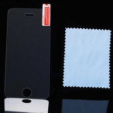 Hot Premium Explosion Proof Tempered Glass Screen Protector For iPhone 5 5S Reinforced Guard Protective Film