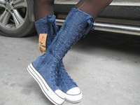 hot-selling 2013 free shipping New arrive fashion brand cool design high style sneaker women's shoe canvas boots