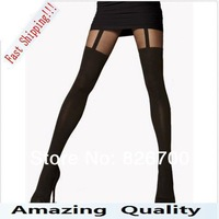Mock Suspender pantyhose Tights, Elegant, Sexy, Soft And Comfortable Tights.Highly Fashionable Patterned Tights#R0025