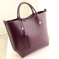 2014 new! Genuine leather fashion designer handbag for women Messenger bag women's leather handbags female black shoulder bag