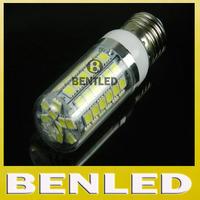 New arrival E27 5050smd LED lamp 220V 15W Warm white/white 69leds 5050 SMD chandelier E27 LED Corn Bulb Light,  free shipping
