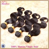 "Peruvian body wave cheap peruvian hair 6pcs lot free shipping 10""-30"" peruvian hair Extension wet and wavy Realove Hair products"
