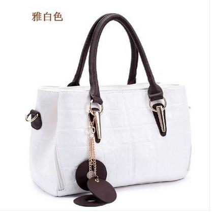 2014 women's leather handbag brand design shoulder bag messenger bag leather bag big waxing oil leather hangbag A001(China (Mainland))
