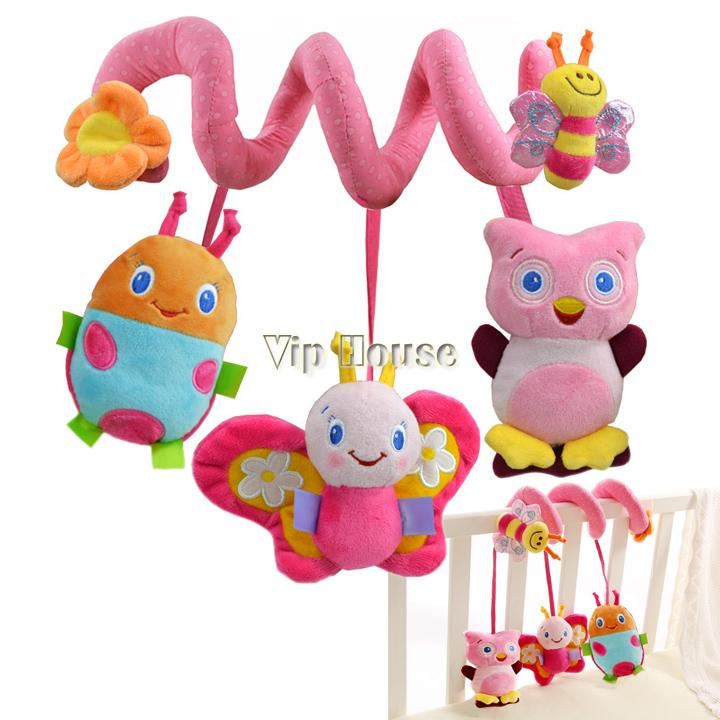 2013 New multifunctional baby bed hanging car hanging newborn toy, Baby Rattles/baby mobiles 1pcs 0-3years 19237(China (Mainland))