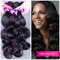 Ali POP hair cheap brazilian body wave virgin hair 4pcs/ lot  brazilian virgin hair body wave  2014 hot selling 100% human hair