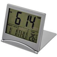 [New] 2014 Electronic Simple Desk Digital LCD Thermometer Calendar Alarm digital Clock desktop clock weather station TK0635*