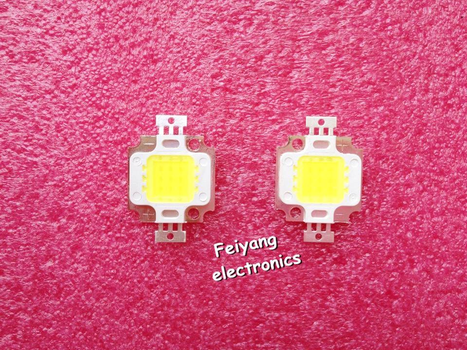 10 pcs frete grátis, 10w led 10w 900-1000lm led bulbo ic smd lâmpada luz
