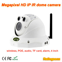 WIFI Camera with 40~50m Night Vision Support ONVIF IP IR Dome Camera for Home Use R-HA241N + WIFI