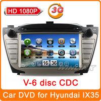 2014 New HD 1080P car dvd for Hyundai IX35 Tucson 2010-2012 GPS navigation navi multimedia stereo radio + CANBUS(opt) + Free Map