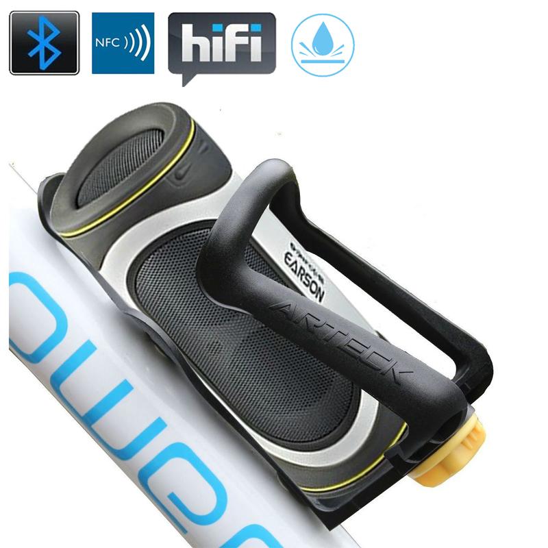 Waterproof portable bluetooth bike speaker , Wireless Stereo NFC mini Ear