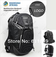 new 2014 motorcycle backpack Moto bag Waterproof shoulders reflective helmet bag motorcycle racing package 14-inch laptops bag
