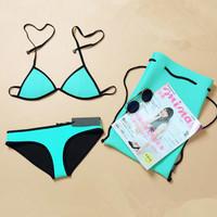 NEOPRENE BIKINI Triangl summer sexy bikinis  swimsuit Bikini set  beachwear