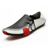 7 Style new 2014 men casual shoes men's flats men leather shoe moccasins  loafers shoes big size 38-47