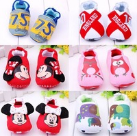 Free Shipping Fashion Animal Prints Shoes Cute Cow Baby Shoes Soft Sole Baby Shoes