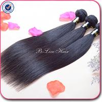 Malaysian virgin hair straight 3 pcs lot free shipping 5A unprocessed malaysian straight virgin hair extension human hair weave