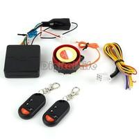 New 2014 Powerful Motorcycle Bike Anti-theft Security Alarm System Remote Control Engine Starter 12V Smart Alarm 125db B2 14744