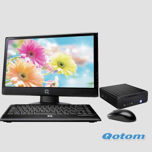 Barebone pc мини-i3 qotom-t3240, intel core