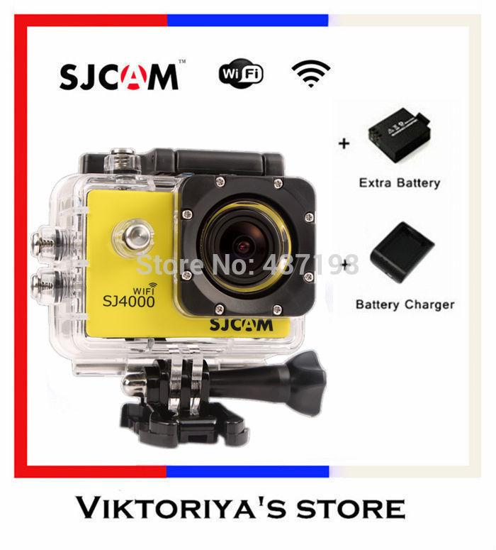 GoPro Hero 3 Style SJCAM SJ4000 Action Camera Diving 30M Waterproof Extreme Gopro Camera G-Senor Sport Camera/Helmet Camera(China (Mainland))