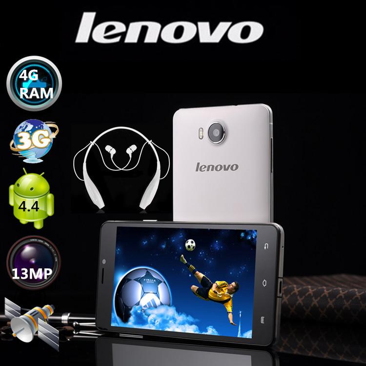 "New Lenovo phone MTK6592 octa core 4G RAM 36G ROM GPS 3G WCDMA 13MP IPS 5.0""china mobile smart android phones free shipping(China (Mainland))"