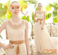 2014 New Summer Bohemian Women Chiffon Ankle-Length Long Dresses Sleeveless Vest Dress Vestidos, 4 Color have store