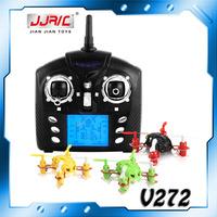 Free Shipping WLToys V272 Smallest RC Quadcopter 4CH 2.4G Remote Control Quad Copter 3D Rotation Quadricopter V272 VS JD385 H107