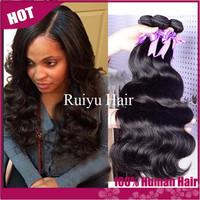 "Rosa hair products brazilian virgin hair body wave 3pcs/4 pcs lot, brazilian body wave 8""-30"" best remy human hair extension"