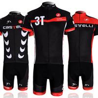 Castelli 2014 cycling jersey Team Cycling Wear Short jersey BIB Shorts Bicycle Bike Jersey Cycling Clothing