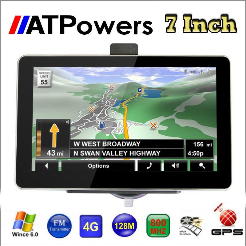 7 inch GPS navigation FM DDR128MB 800*480 car gps MTK MS2531 800MHZ Navitel 8.5 2014 Maps Russia Ukraine Belarus Kazakhstan(China (Mainland))