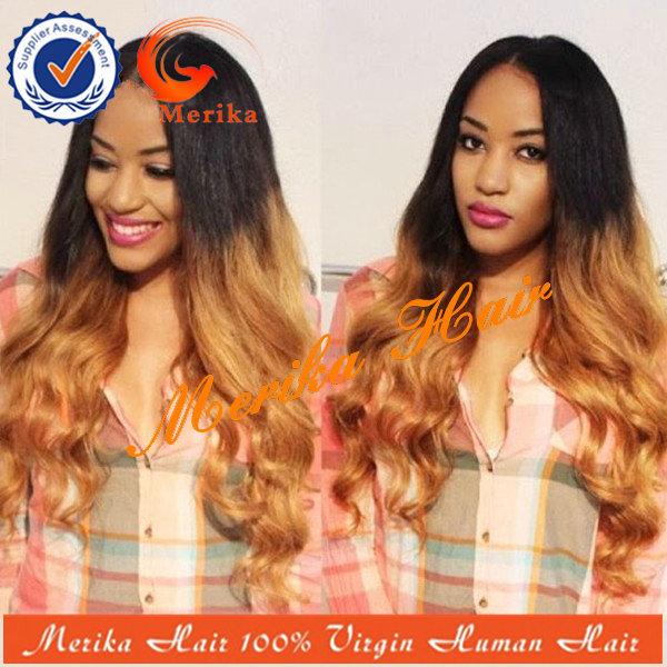 Merika hair 10/24 #1b /#27 130density MH-SKF075