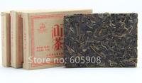 2006year Yunnan Puer Tea Brick , Wild Tea,Raw Puer Green Tea Flavorful Finish 50g