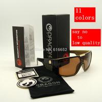 with case dragon domo sunglasses fashion sport sunglasses italy design sunglasses  cycling cycle sunglasses