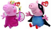 2014 New Arrival TY Plush  Peppa Pig Family  Toys  George Pig Pepa Pig Doll Boneca Pelucia OD0020