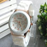 Hot 2014 best selling fashion quartz watch women dress casual Wristwatches luxury brand silicone jelly relogio feminino watches