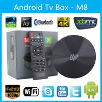 2014 NEW Amlogic s802 Quad Core CPU 2GHz smart Android TV Box Mali450 GPU 4K Android 4.4 KitKat Support OTA HDMI Bluetooth 4.0