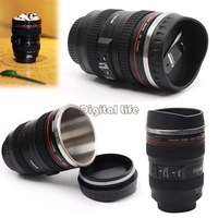 Special Present!! Coffee Cup For Canon Fans 1:1 EF 24-105mm Thermos Camera Lens Mug for Coffee Milk Tea Water B2 OS000121