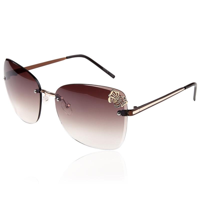 2014 Trendy Fashion Sunglasses Luxury Ladies Butterfly Designer Exclusive Brand Embellishment Sunglasses Women Glasses Female(China (Mainland))
