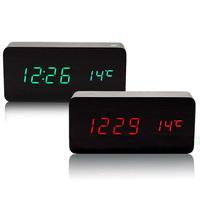 Home Doctor Alarm Clocks, LED Clock, digital clock, desktop clocks for Modern Calendar Thermometer Wood Wooden for wholesale