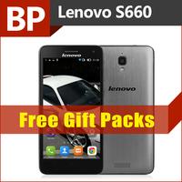 Original Lenovo S660 4.7 Inch QHD IPS 3000mAh Battery MTK6582 Quad Core Android 4.2 Mobile Cell Phone 1GB RAM 8GB ROM 8MP GPS