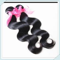 Muse Hair:Unprocessed Bundle100% Virgin Brazilian Body Wave Human Hair Weave / Extension Cheap One 60gram Free Shipping Shining