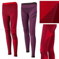 CRANE outdoor sport quick-drying underwear Active women seamless leggings workout pants trousers Ultrafine Meryl anti-bacterial